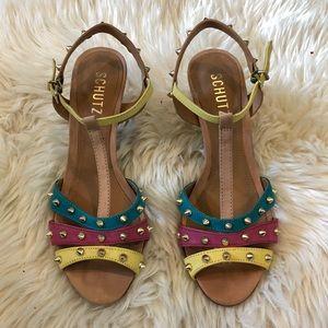 SCHUTZ Summer Sandle Heels
